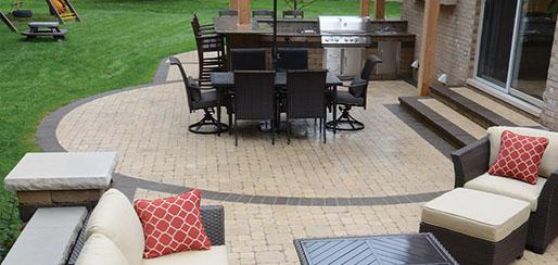 brick paver patio design and installation contractor