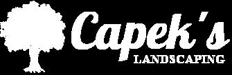 Capek's Landscaping Company Logo St Clair Shores, MI 48080