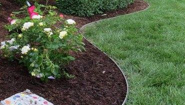 Landscape Garden Edging Installation