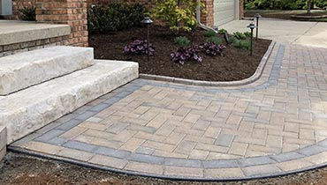 Hardscape Walkway and Patio Pavers