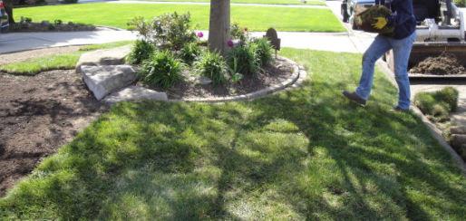 Sod installation job in St Clair Shores, MI